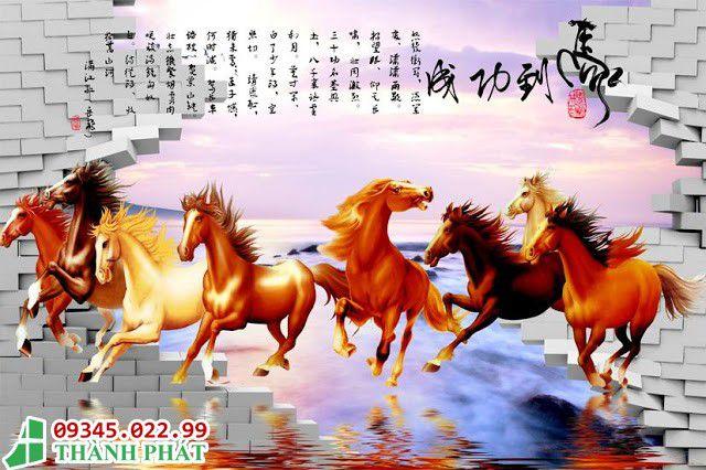 tranh kính ngựa
