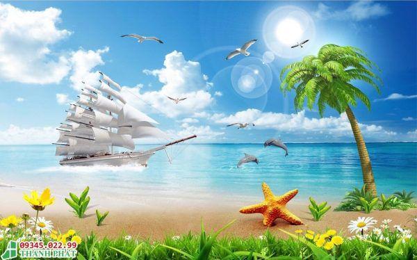 Tranh kính thuận buồm xuôi gió hợp mệnh nào