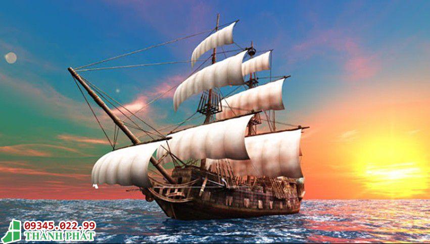 Tuổi nào hợp với tranh kính thuận buồm xuôi gió