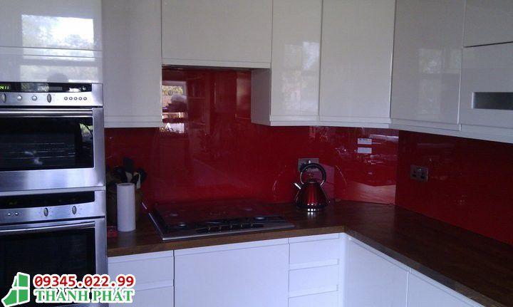 Màu đỏ cực đẹp cho bếp