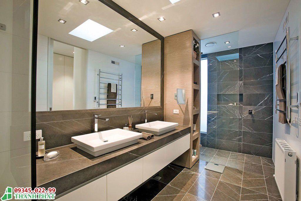 Kính trang trí cho phòng tắm