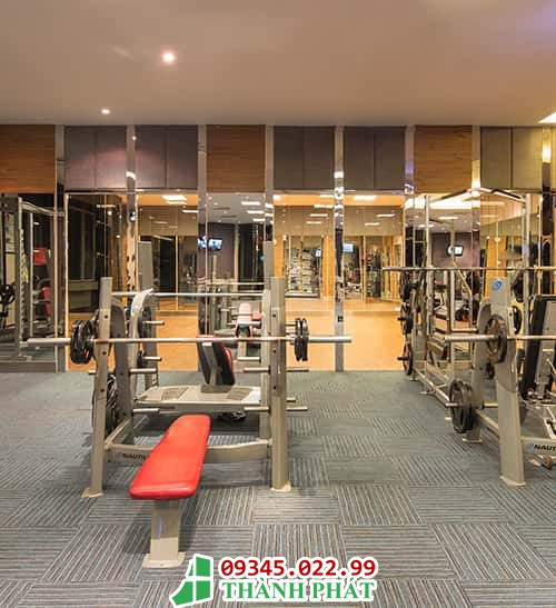 gương phòng gym