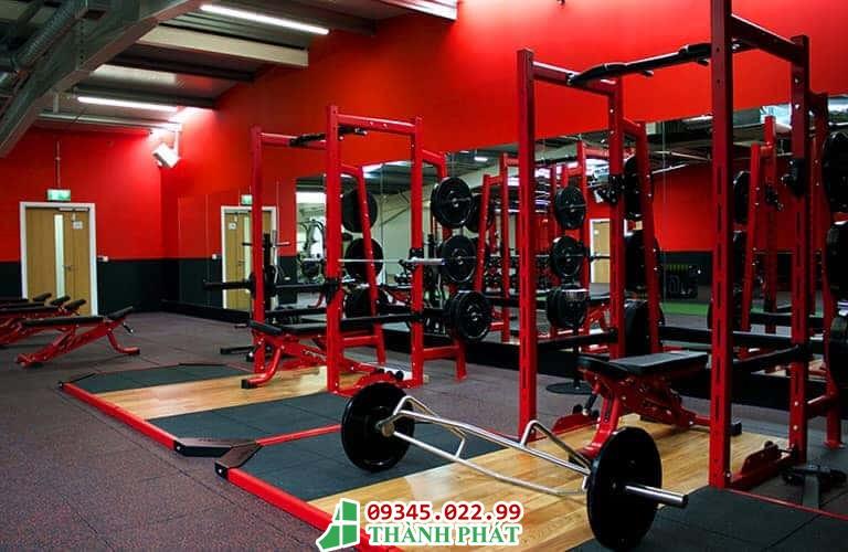 gương phòng tập gym